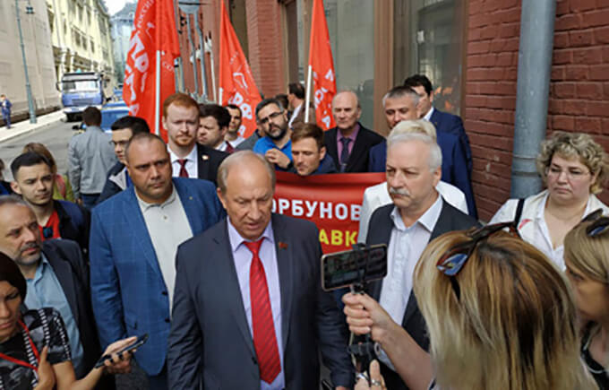 Neue Protestformen in Russland