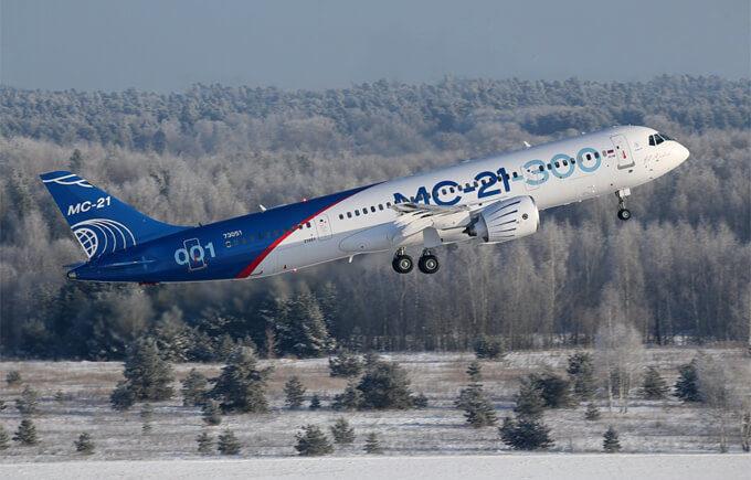 Die USA lassen den russischen MS-21-Jet am Boden, und Russland kann Boeing die Flügel stutzen